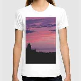 Cathedral of Segovia at Sunset T-shirt