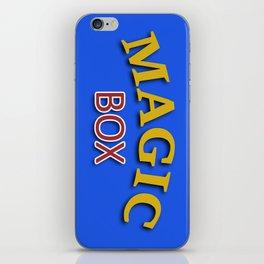 The Magic Box iPhone Skin