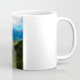 Gore Range with ranches below Coffee Mug