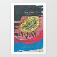 CONSTITUCION 125 Art Print