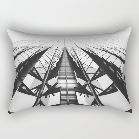 To the Limit - World Trade Center - NYC Rectangular Pillow