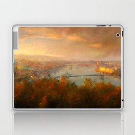 View of Budapest Laptop & iPad Skin