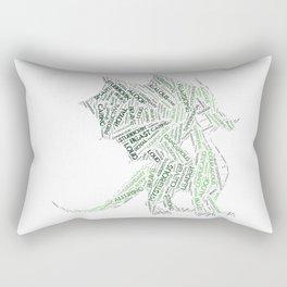 My Spirit Animal is a Dragon Rectangular Pillow