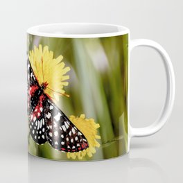 A Red Dotted Checkerspot Coffee Mug