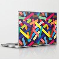 confetti Laptop & iPad Skins featuring Confetti by Joe Van Wetering