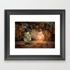 Quickly shot Framed Art Print