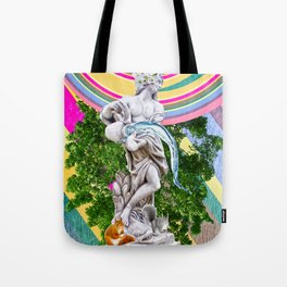 Water for the squirrels. Tote Bag