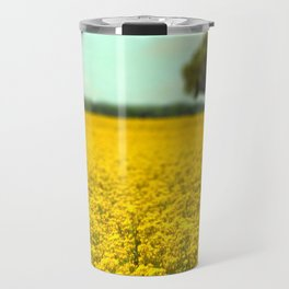 Yellow Fields Travel Mug