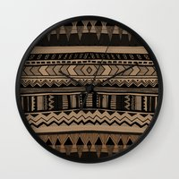 woodland Wall Clocks featuring  WOODLAND by Vasare Nar