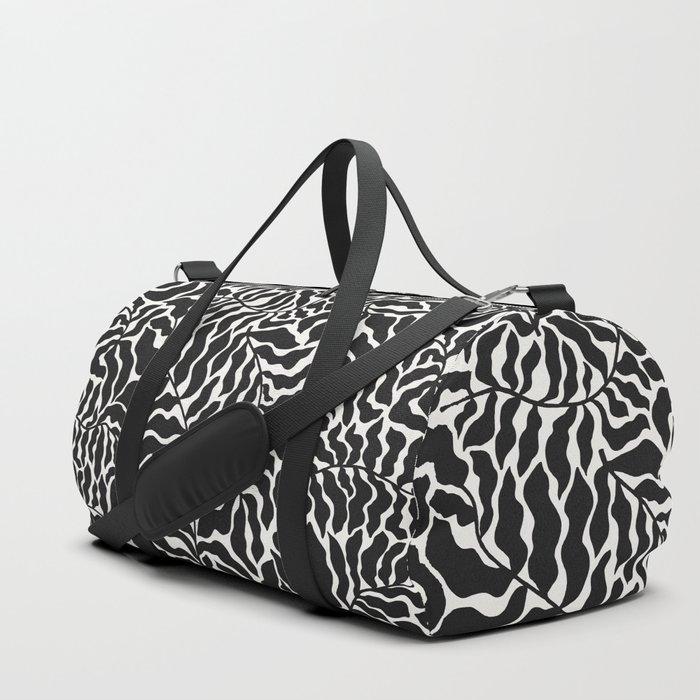 Abundance | B&W Duffle Bag