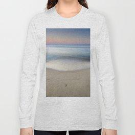 """Serenity"". Sunset at the beach Long Sleeve T-shirt"
