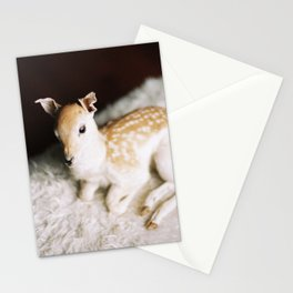 baby deer Stationery Cards
