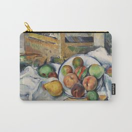 A Table Corner by Paul Cézanne Carry-All Pouch