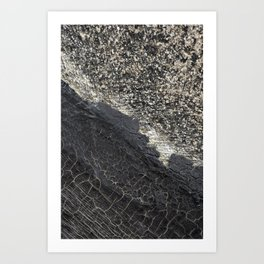 Crackled Art Print