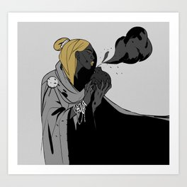 19 - Cloud Art Print