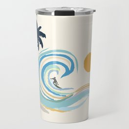 Minimalistic Summer II Travel Mug