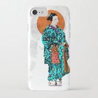 geisha iPhone & iPod Cases featuring Geisha by Steve W Schwartz Art
