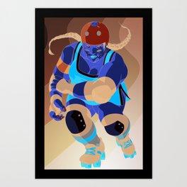 Derby Girls 04 Art Print