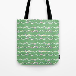 City lines Tote Bag