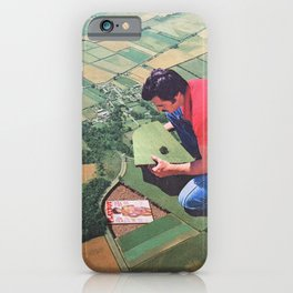 Hide and seek - Land iPhone Case