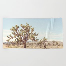 Pale Desert Beach Towel