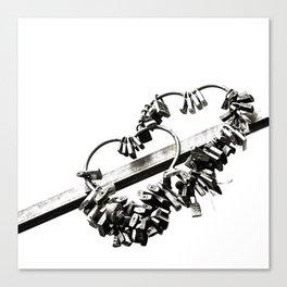 locks Canvas Print