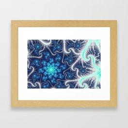 Winter Vortex Framed Art Print