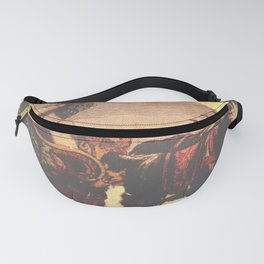 Goat Chariot & Grapes Fanny Pack