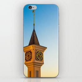 fabulous clock tower iPhone Skin