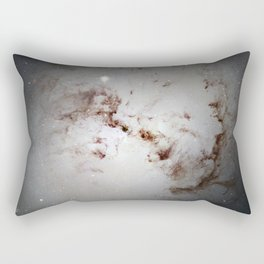 Elliptical Galaxy Rectangular Pillow