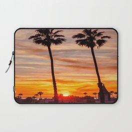 Santa Monica Sunset Laptop Sleeve
