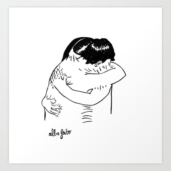 I'm Sticking With You Art Print