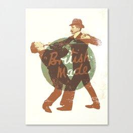 British Made Canvas Print