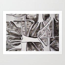 Eyestrees Art Print