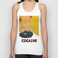 cocaine Tank Tops featuring Sweet sweet cocaine... by Albertine et Gedeon
