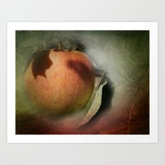 one apple a day keeps the doctor away Art Print