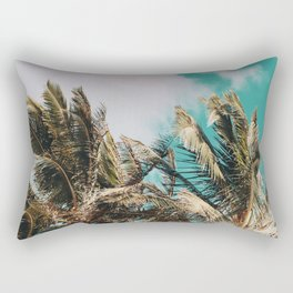 Palm Trees and Island Breeze Rectangular Pillow