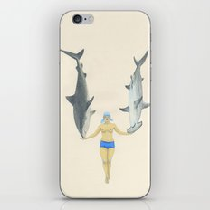 The Shark Charmer iPhone & iPod Skin