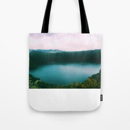 The Lake of the Living Spirals Tote Bag