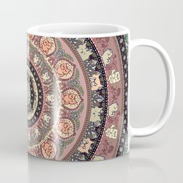 Cat Yoga Medallion Coffee Mug