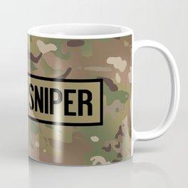 Military: Sniper (Camo) Coffee Mug