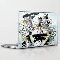 blueprint Laptop & iPad Skins featuring BluePrint by PrincessM