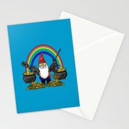 Gnome Guns Stationery Cards