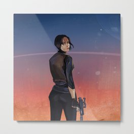 SW Rogue One Jyn Erso Metal Print
