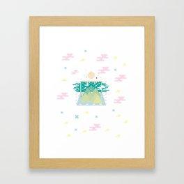 Mount. Framed Art Print