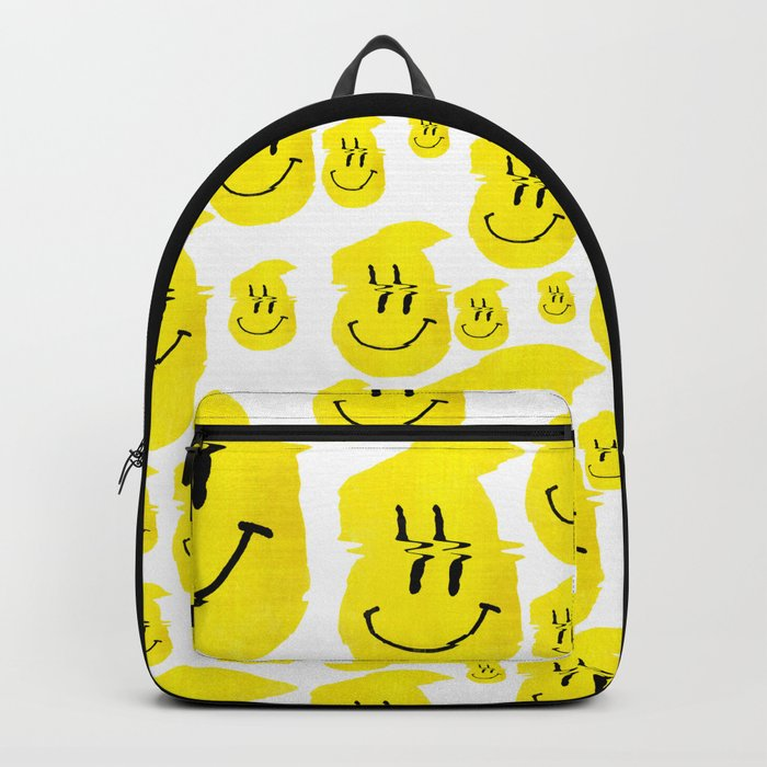 Smiley Glitch Backpack