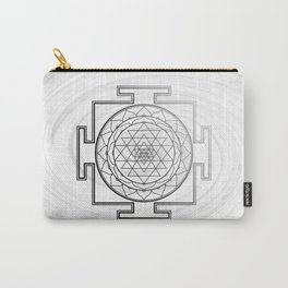 Swirly Shree Yantra Carry-All Pouch