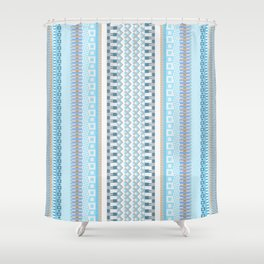 Woven Pattern 5.0 Shower Curtain