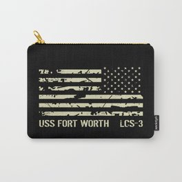 USS Fort Worth Carry-All Pouch