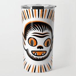 Werewolf Head Travel Mug